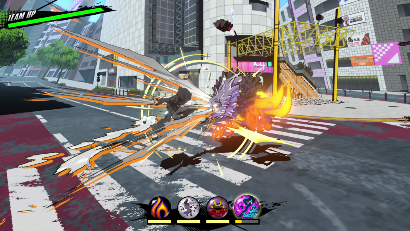 combate de NEO: The World Ends With You